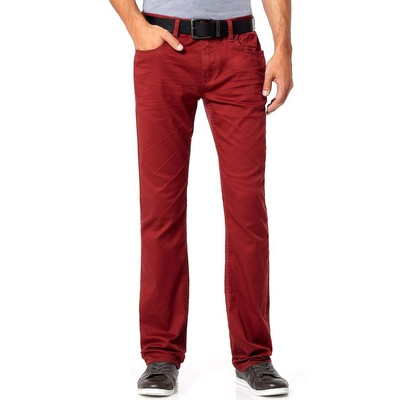 Buffalo Jeans SIX-X LOWRISE SLIM IN CHERRY RED