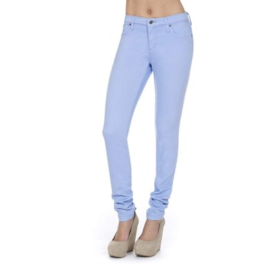 Second Yoga MIDRISE SKINNY IN PERIWINKLE
