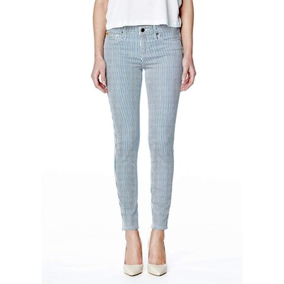 Second Yoga HIGHRISE SKINNY WITH STRIPES