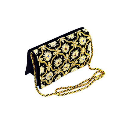 Black & Gold Shoulder/Crossbody Bag