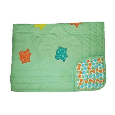 Glo Baby Elephant Toddler Quilt