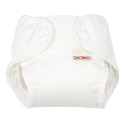Imse Vimse All-in-One diaper (2-pack) - White - small
