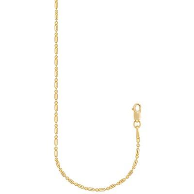 "Eliza 14K Gold Filled Yellow 7.5"" Bead Bracelet"