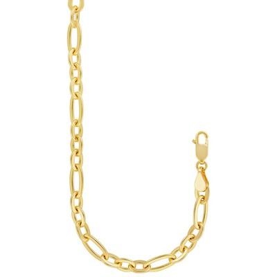 "Eliza 14K Gold Filled Yellow  7.5"" Oval Link Bracelet"