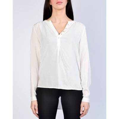 ONLY       FALLOW HENLEY BLOUSE