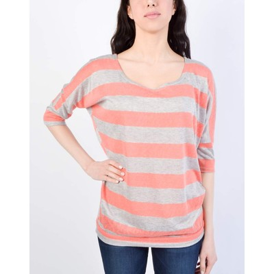 Ripe DOLMAN SLEEVE STRIPED TOP
