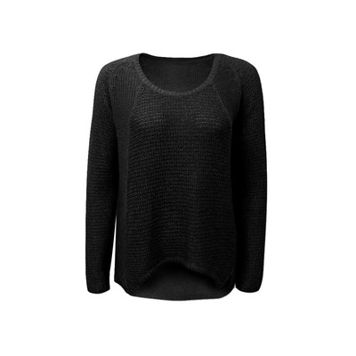 RD - Razzle Dazzle Long Sleeve Dual Twist Yarn Sweater
