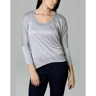 YDE Studio Scoop Neck with Seaming Detail