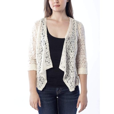 YDE Studio Lace Open Cardigan