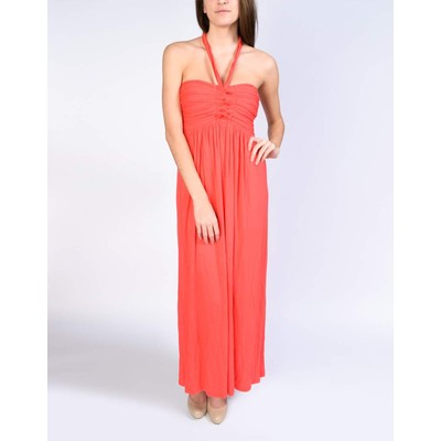 Catwalk Strapless/Halter Maxi Dress