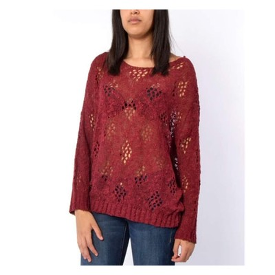 YDE  Diamond Nubby Sweater