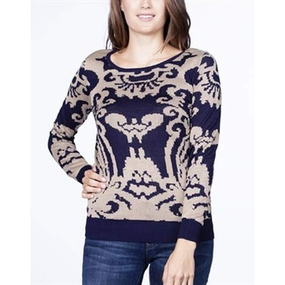 YDE Studio Demask Print Sweater