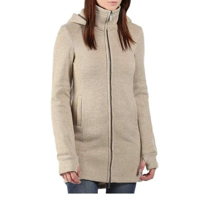 Bench BRADIE C BONDED LONG HOODED JACKET