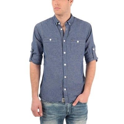 Buffalo Jeans LONG SLEEVE SIRON LINEN SHIRT