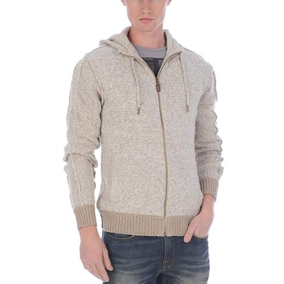 Buffalo Jeans LONG SLEEVE MIX YARN HOODY SWEATER