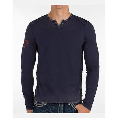 Buffalo Jeans SLUB VINTAGE WASH HENLEY