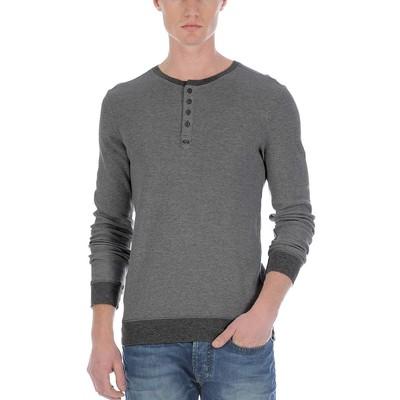 Buffalo Jeans L/S MELANGE WAFFLE HENLEY