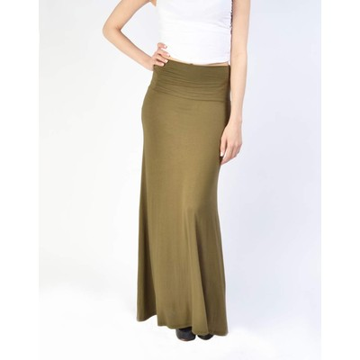 B-Envied SOLID JERSEY MAXI SKIRT