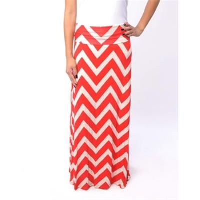 B-Envied Zig Zag Maxi Skirt