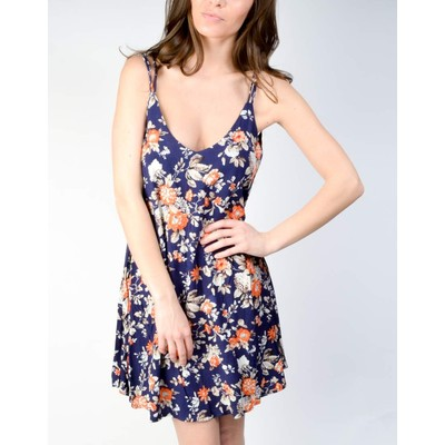 YDE  FLORAL MULTI STRAP DRESS