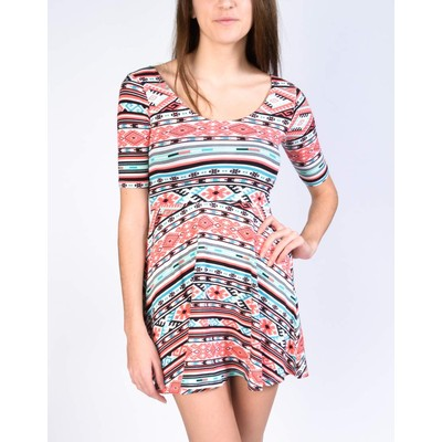 YDE  TRIBAL PRINT BALLET DRESS