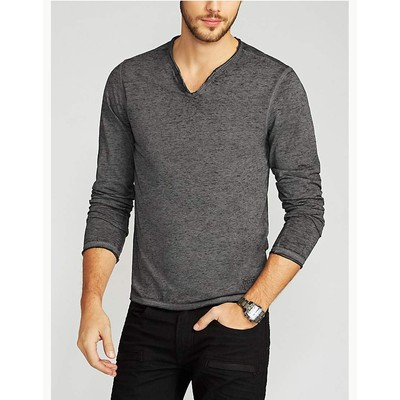 Guess MYER SLIT LONG SLEEVE TEE