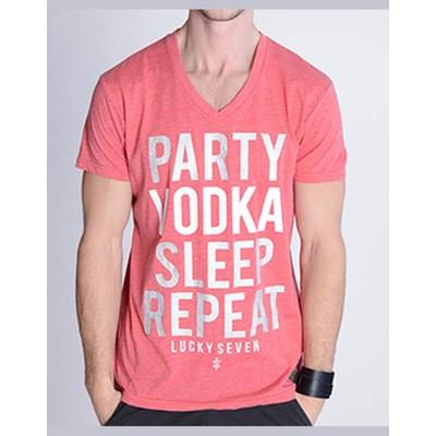 Lucky 7 PARTY VODKA SLEEP TEE