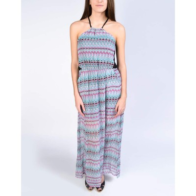 YDE Studio TRIBAL CHIFFON MAXI DRESS