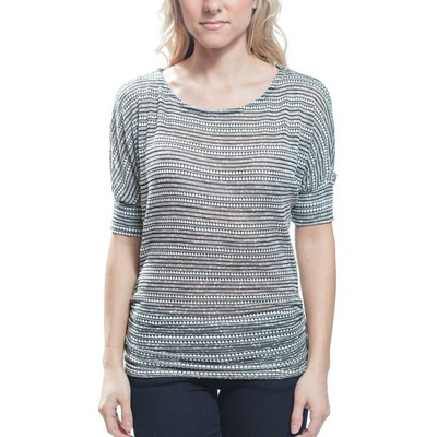 Sweet Claire DOLMAN WITH RUCHED SIDE