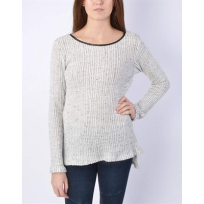 Sweet Claire  Speckled Tunic Sweater
