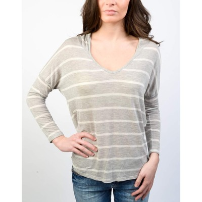 YDE  HOODED STRIPED TOP