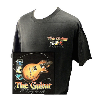 Way of Life with Guitars T-Shirt - 2XL - Aim - 10638XXL