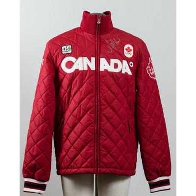 Men's Vancouver 2010 Gold Medalist Ashleigh McIvor Autographed Podium Jacket