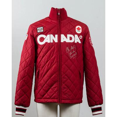 Men's Vancouver 2010 Gold Medalist Jon Montgomery Autographed Podium Jacket