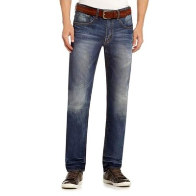 Buffalo Jeans ILAN MIDRISE DROPPED CROTCH STRAIGHT IN INDIGO
