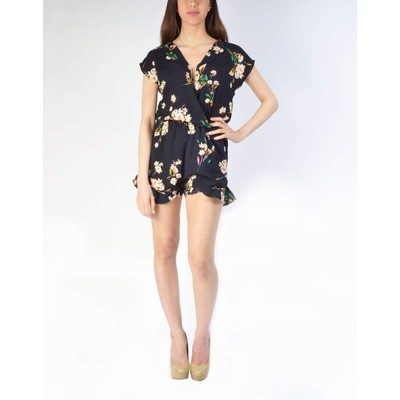 Honey Punch FLORAL ROMPER