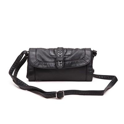 Lipstick Black Luxanne Cross Body Bag