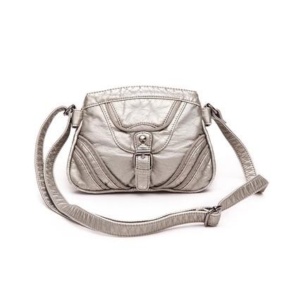 Mall Silver Luxanne Cross Body Bag