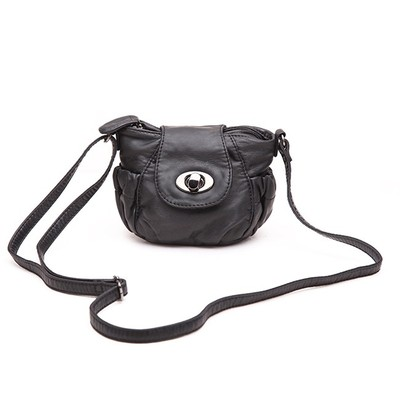 Petite Black Luxanne Cross Body Bag