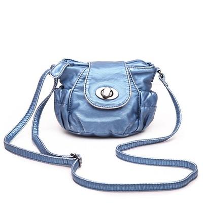 Petite Blue Luxanne Cross Body Bag