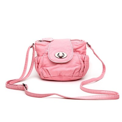 Petite Pink Luxanne Cross Body Bag