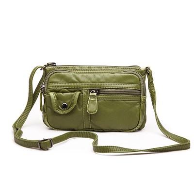 Picnic Green Luxanne Cross Body Bag