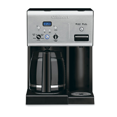 Cuisinart-Refurbished Coffee PLUS 12-Cup Programmable Coffeemaker and Hot Water System (CHW-12C), Manufacturer Recertified