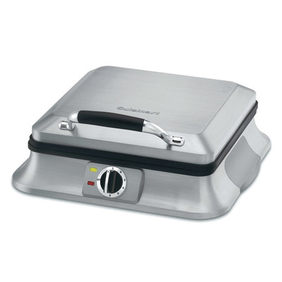 Cuisinart-Refurbished 4-Slice Belgian Waffle Iron (WAF-4B), Manufacturer Recertified