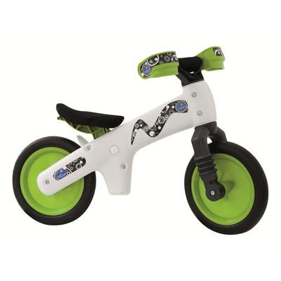 Balance Bike B-BIP  - White / Green ** ASSEMBLED **