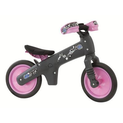 Balance Bike B-BIP - Grey / pink