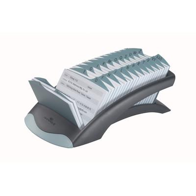 Durable Telindex Card File Blk/Grey