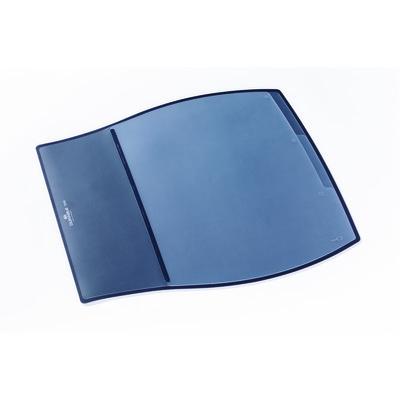 Durable Work Desk Pad 3 Tab Index Black