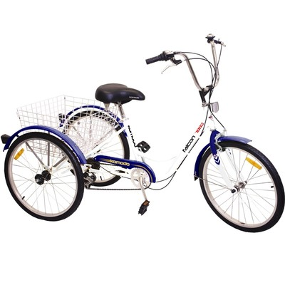 Komodo Cycling 24-Inch 6-Speed Adult Tricycle