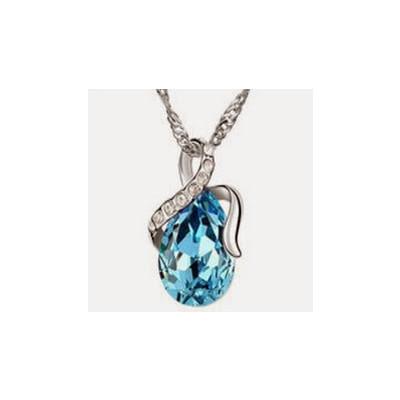 Water Drop Crystal Necklace